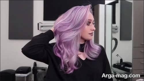 رنگ موی دخترانه شیک و زیبا