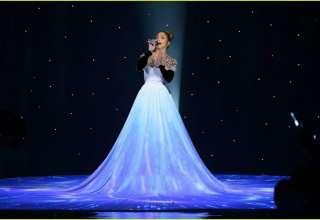 مدل لباس پرنسسی بلند و شیک