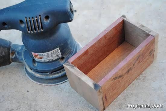 مراحل ساختن جعبه چوبی