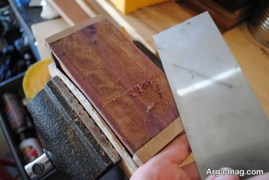 مراحل ساخت جعبه چوبی زیبا و شیک و تزیینی
