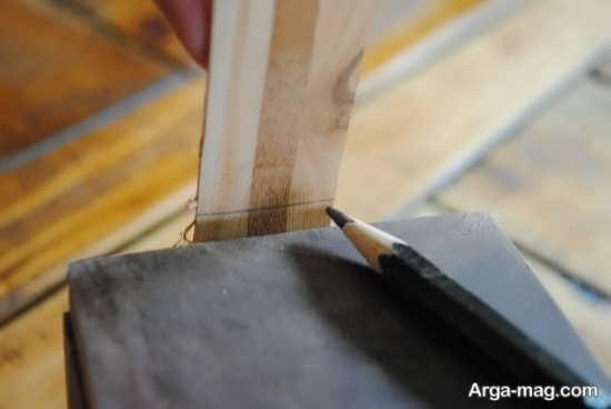 مراحل کار ساختن جعبه چوبی