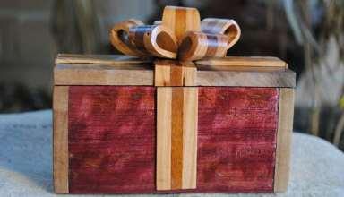 ساخت جعبه چوبی زیبا