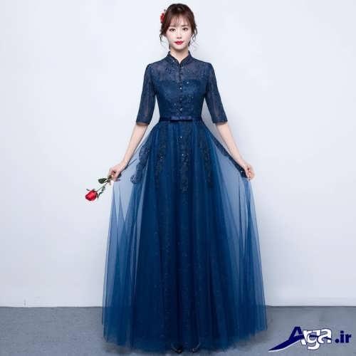 مدل لباس مجلسی بلند زیبا و جدید