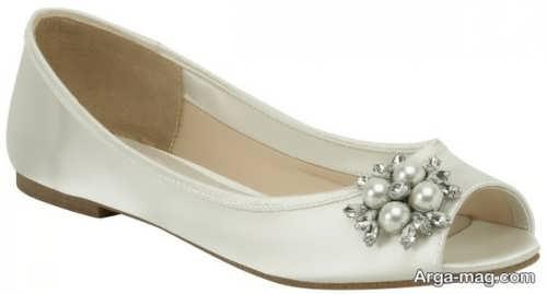 مدل کفش کار شده و شیک عروس