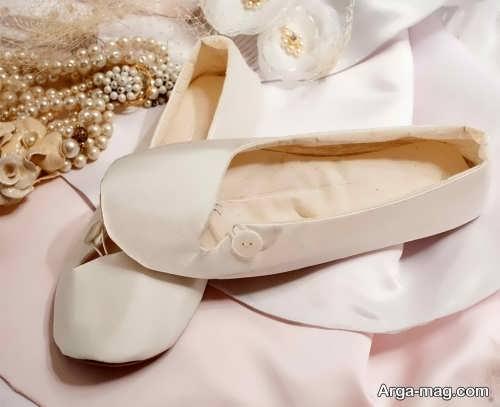 مدل کفش ساده و شیک عروس