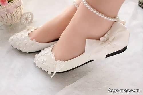 مدل شیک و جذاب کفش عروس
