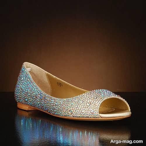 مدل شیک و زیبا کفش عروس