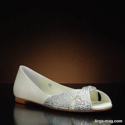 مدل زیبا و جذاب کفش عروس