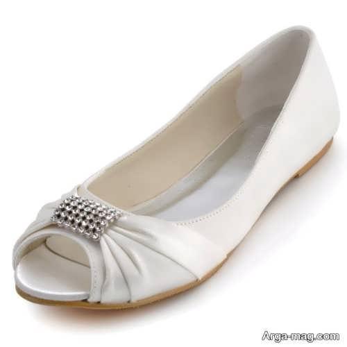 مدل کفش ساده عروس