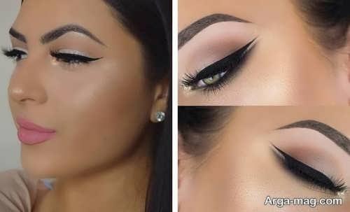 مدل زیبا و جذاب آرایش چشم عروس