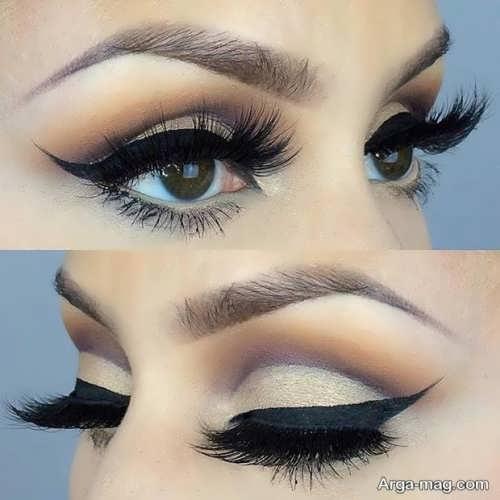 مدل شیک و جذاب آرایش چشم عروس