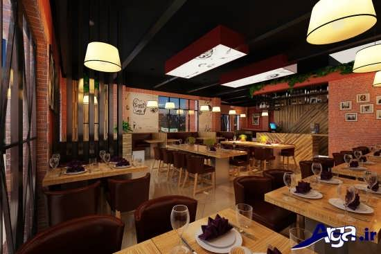 انواع ایده برای دکوراسیون رستوران