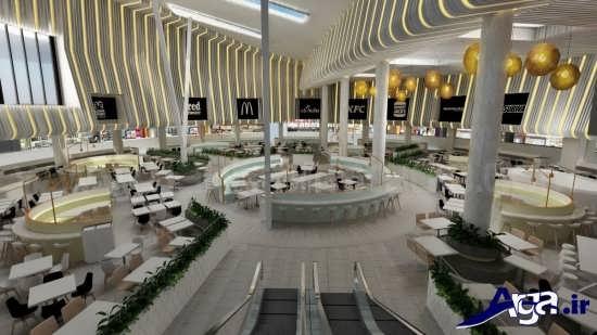 ایده های شیک و مدرن برای دکوراسیون سالنهای غذاخوری و رستورانها