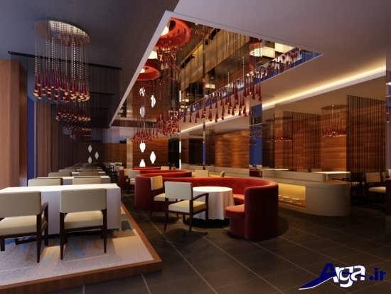 رستوران با سبک جدید و امروزی