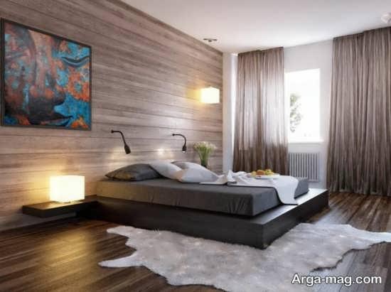 مدل فرش طرح پوست اتاق خواب