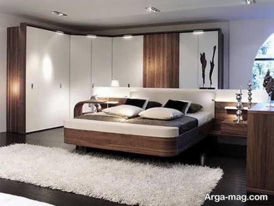 مدل فرش پرز بلند اتاق خواب جدید