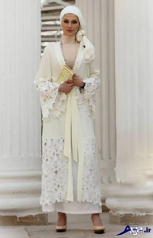 مدل مانتو زنانه بلند مجلسی