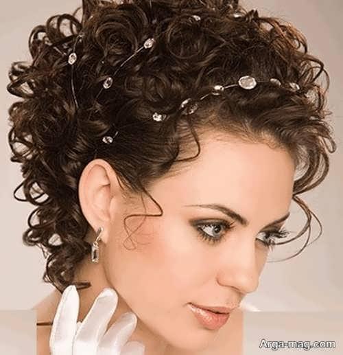مدل مو باز کوتاه فر
