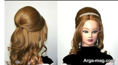 مدل موی ساده و شیک باز