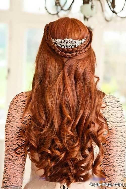 مدل موی شیک و باز