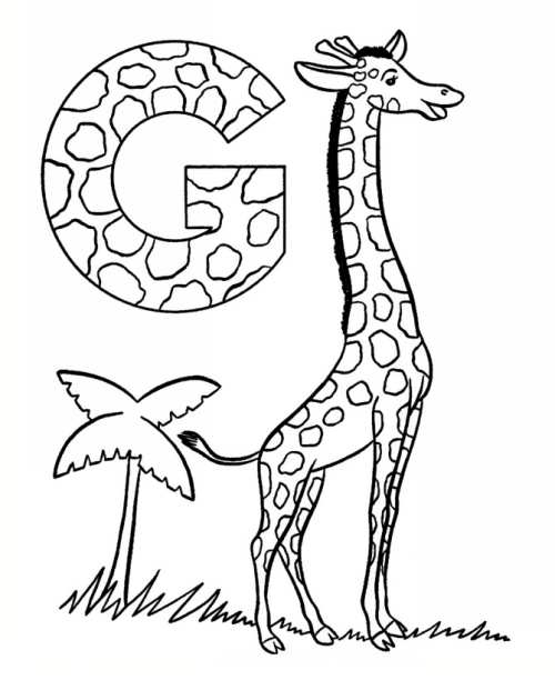baby abc coloring pages - photo#43