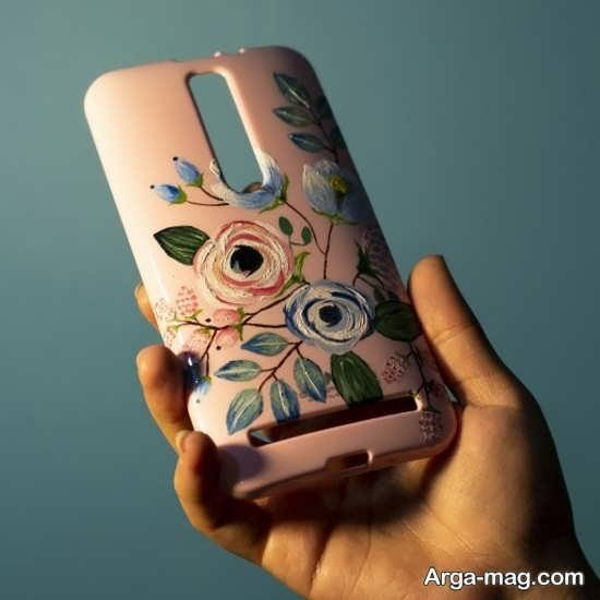 نقاشی های جذاب روی قاب موبایل