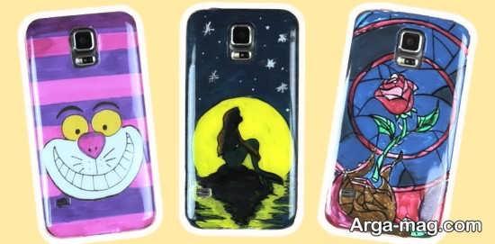 نقاشی های جدید روی قاب موبایل