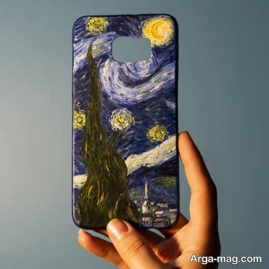 نقاشی های دوست داشتنی روی قاب موبایل