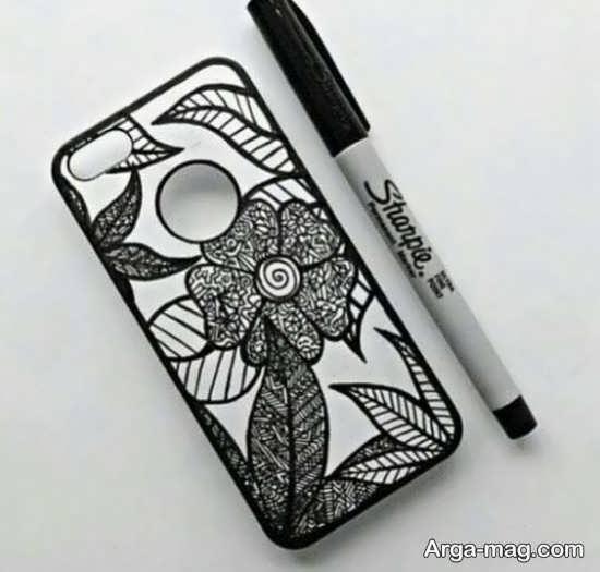 بهترین نقاشی روی قاب موبایل