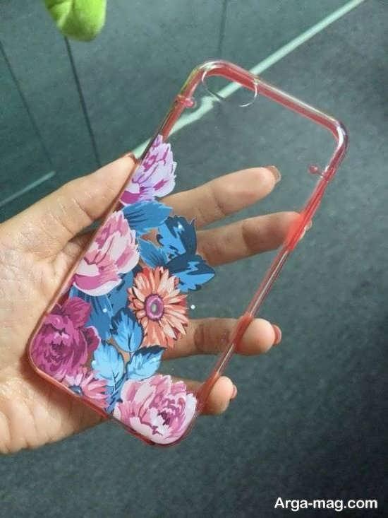 نقاشی های تماشایی روی قاب موبایل
