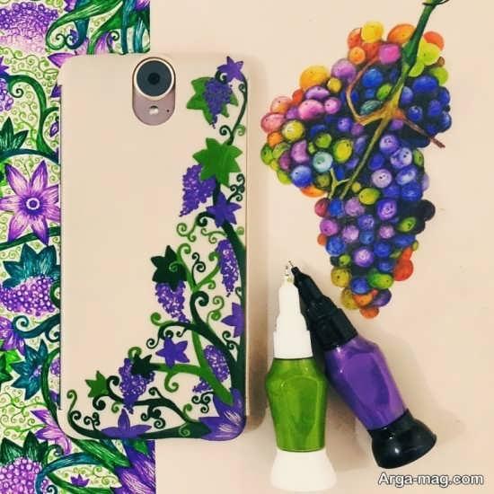 نقاشی روی قاب گوشی با ایده های متفاوت