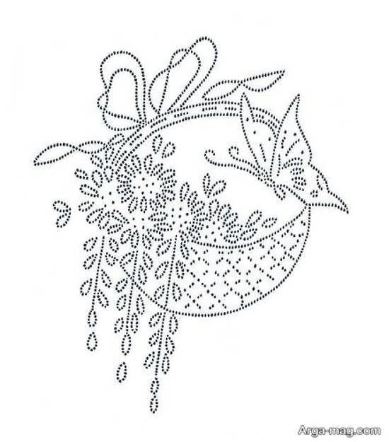 زیباترین طرحهای ساده گلدوزی