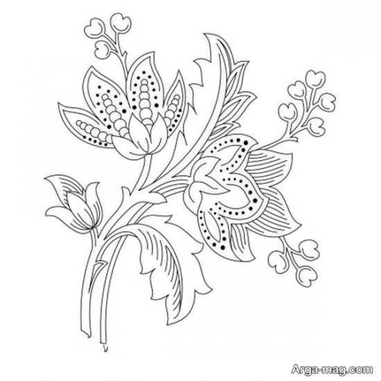 زیباترین طرحهای گلدوزی شیک
