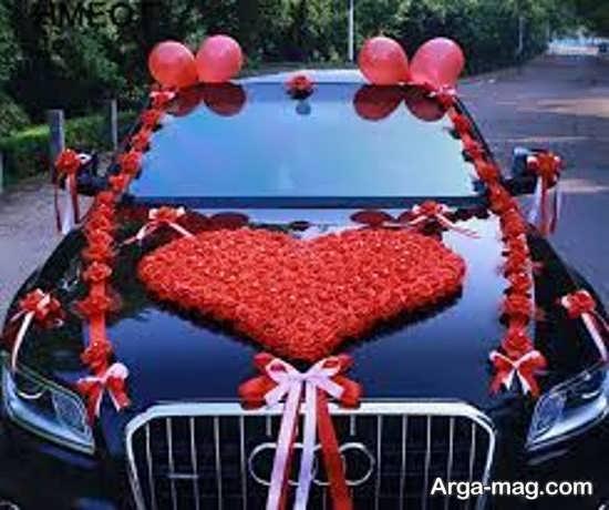 تزیین جدید اتومبیل عروس ساده