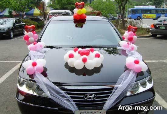جدیدترین تزیین ماشین عروس ساده