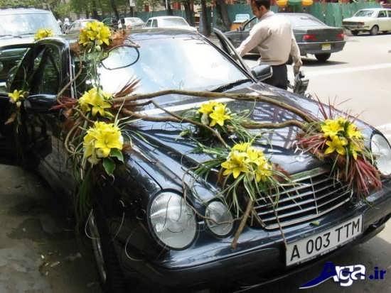 ایده زیبا برای ماشین عروس