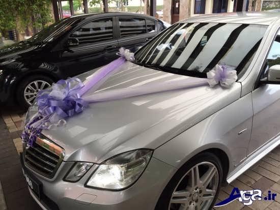 تزیین ماشین عروس ساده به سبک امروزی