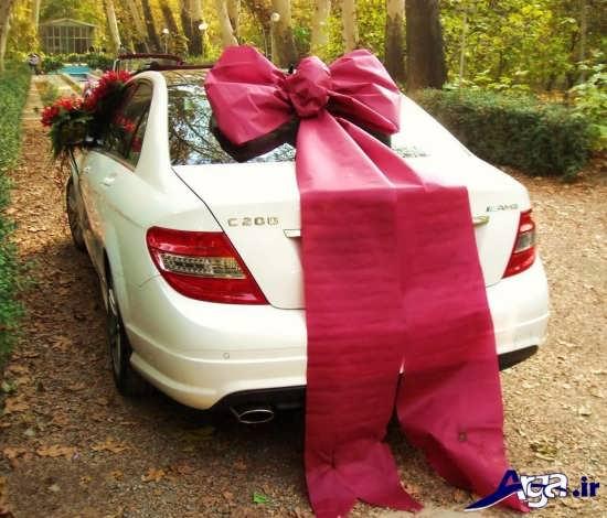 ماشی عروس زیبا و ساده برای تزیین