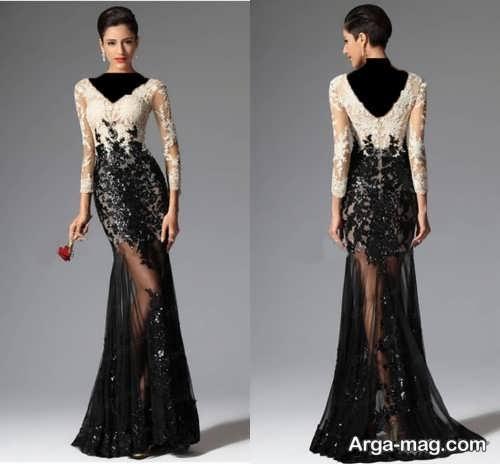 مدل شیک و زیبا لباس مجلسی