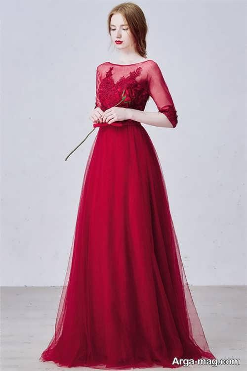 مدل لباس کره ای آستین دار