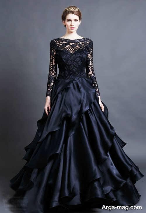 مدل لباس مجلسی مشکی و شیک