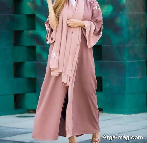 مدل مانتو بلند تابستانی در رنگ روشن