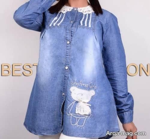 مدل پیراهن لی زنانه