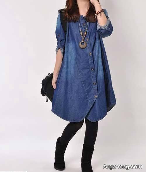 مدلی از پیراهن لی دخترانه