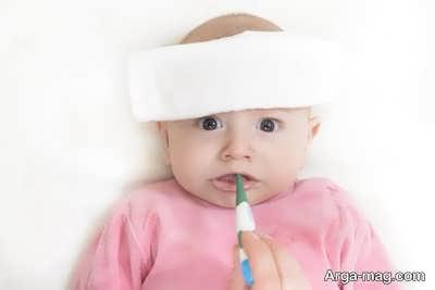 روش درمان سرماخوردگی نوزادان