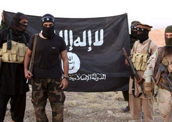 نماد گروه داعش در تهران