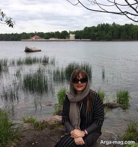 لیلا برخورداری در خلیج فنلاند