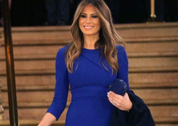 عکس جدید همسر ترامپ