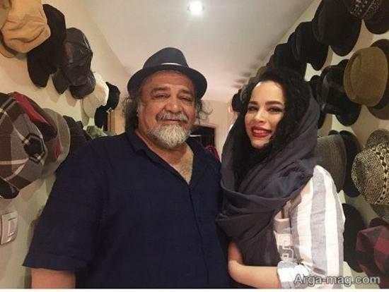 ملیکا و محمدرضا شریفی نیا