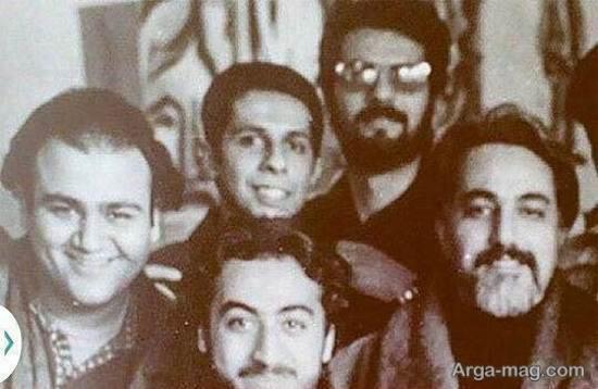 عکس قدیمی جواد رضویان و مهران غفوریان